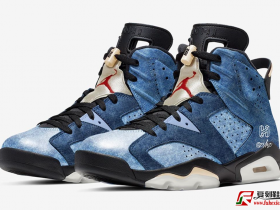 "Air Jordan 6""Washed Denim"" 货号:CT5350-401  发售日期:2019年12月28日"