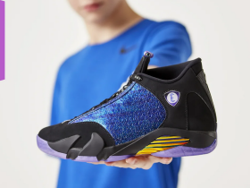 "Air Jordan 14"" Doernbecher"" 货号:CV2469-001  发售日期:2019年12月7日"