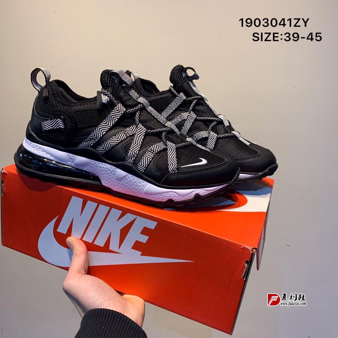 耐克 Nike Air Max 270 Bowfin弓鳍鱼系列机能户外后半掌气垫慢跑鞋