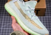 """复刻鞋网原创:巴斯夫真爆大底 Adidas Yeezy 350 Boost V2  """"Hyperspace"""" 薄荷绿配色 亚洲限定"""