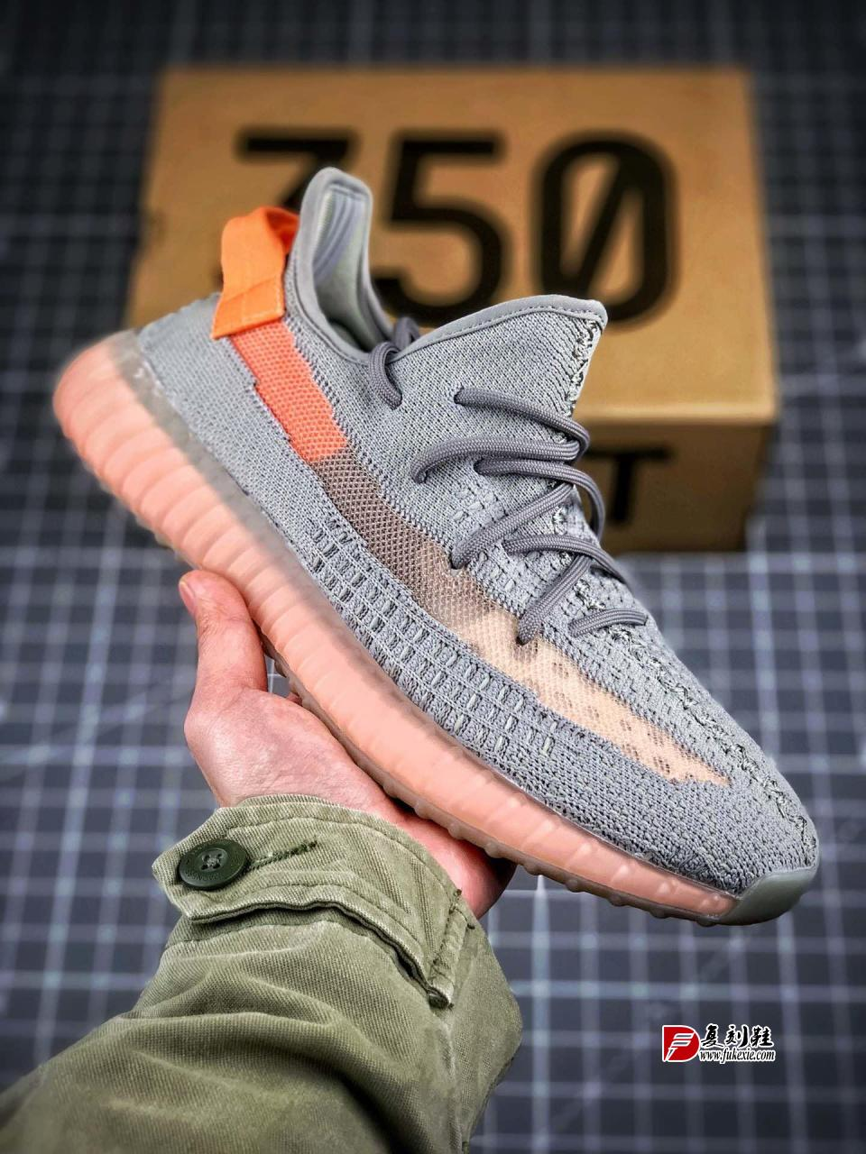 "巴斯夫真爆大底 Adidas Yeezy 350 Boost V2  ""True Form"" 欧洲限定"