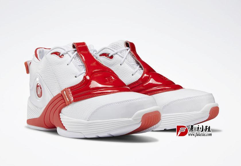 Reebok Answer 5 V OG White Red 2019 DV6961 Release Date 复刻鞋网 fukexie.com