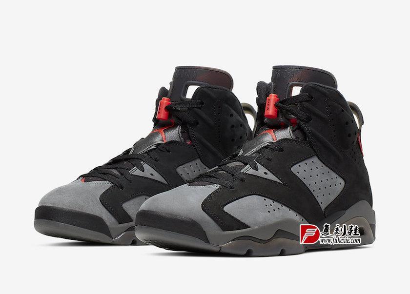 Air Jordan 6 PSG CK1229-001 2019复刻鞋网 fukexie.com