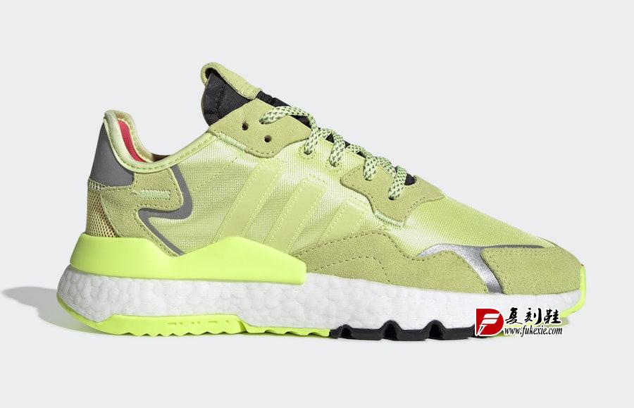 adidas,Nite Jogger,发售,EE5911  满满的小清新配色!这双 Nite Jogger 你打几分?
