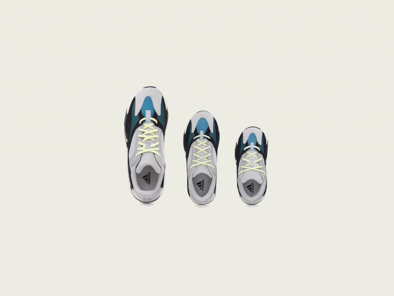 "adidas Yeezy Boost 700 ""Waverunner"" 将于 8 月 17 日在 KIKS BEIJING 在内的指定店铺发售"