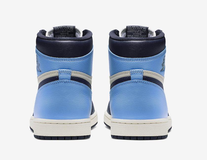 Air Jordan 1 Obsidian University Blue 555088-140 2019 复刻鞋网 fukexie.com