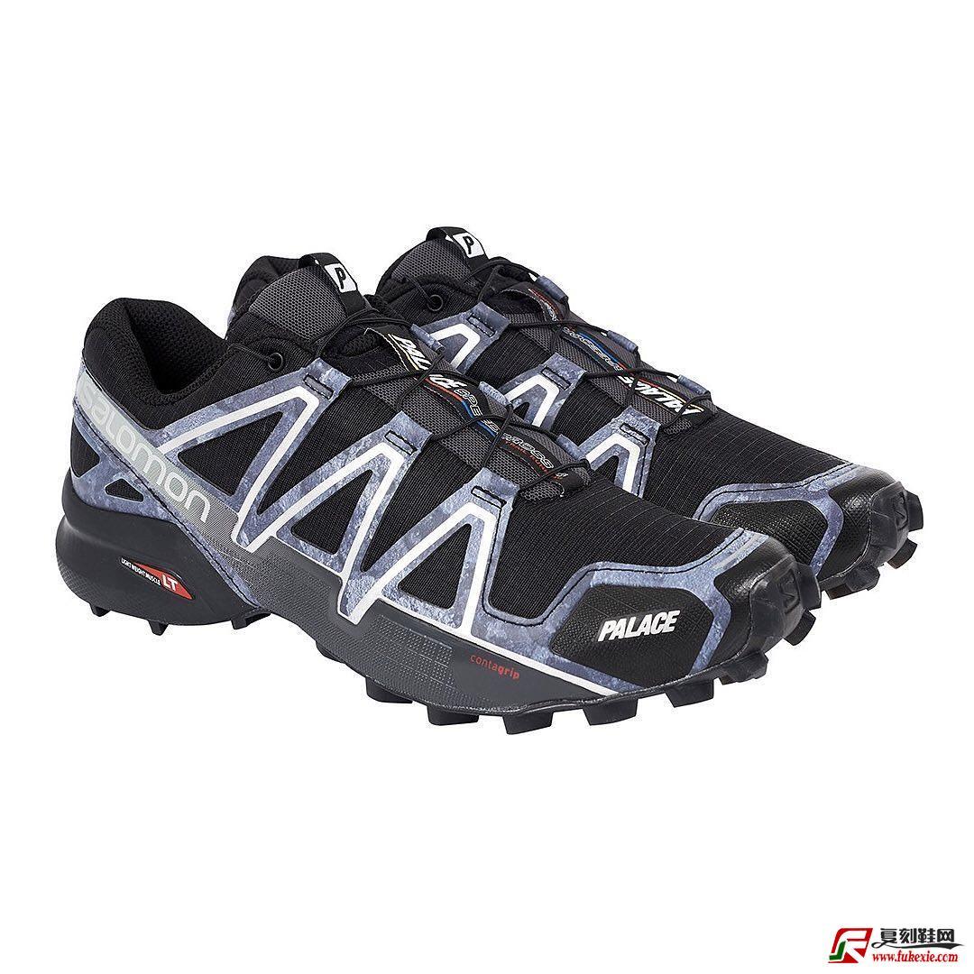 PALACE × SALOMON SPEEDCROSS 4 鞋款释出