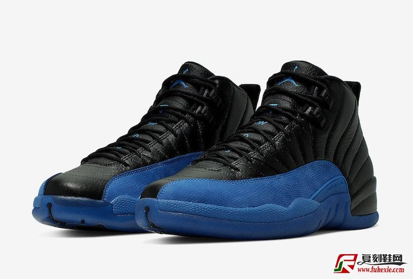 Air Jordan 12 Black Game Royal皇家蓝 货号: 130690-014 | 复刻鞋网 fukexie.com