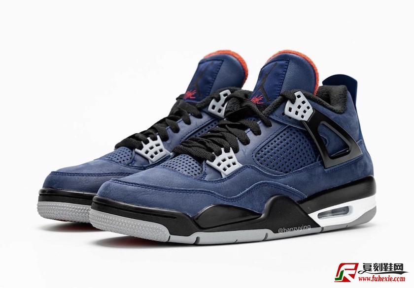 Air Jordan 4 WNTR 货号: CQ9597-401 发售日期:2019.12.2 | 复刻鞋网 fukexie.com
