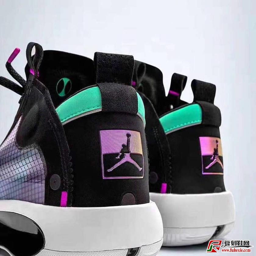 全新配色设计Air Jordan 34 实物图曝光货号:AR3240-400  | 复刻鞋网 fukexie.com