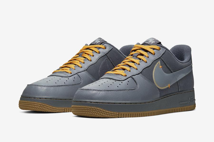 Nike Air Force 1 Low 酷灰配色 空军一号板鞋 货号:CQ6367-001