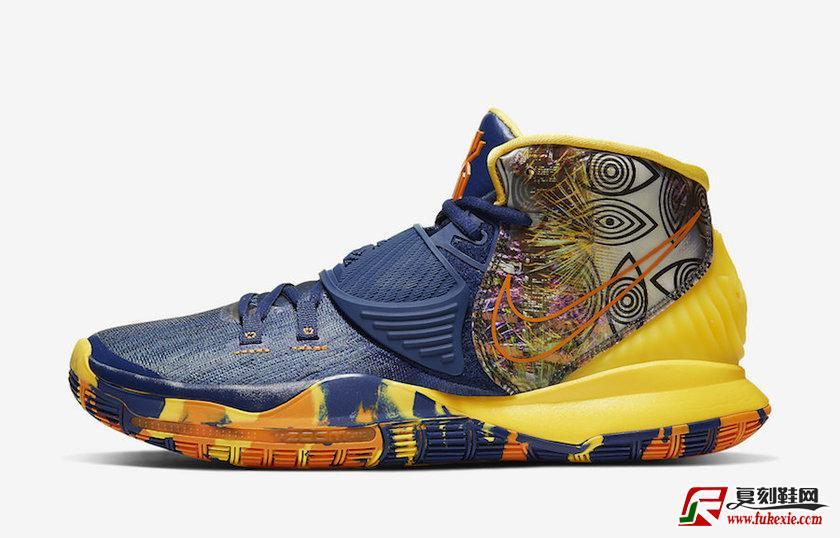 """Nike Kyrie 6 Pre-Heat"""" Taipei"""" 台北限定 货号:CQ7634-401   复刻鞋网 fukexie.com"""