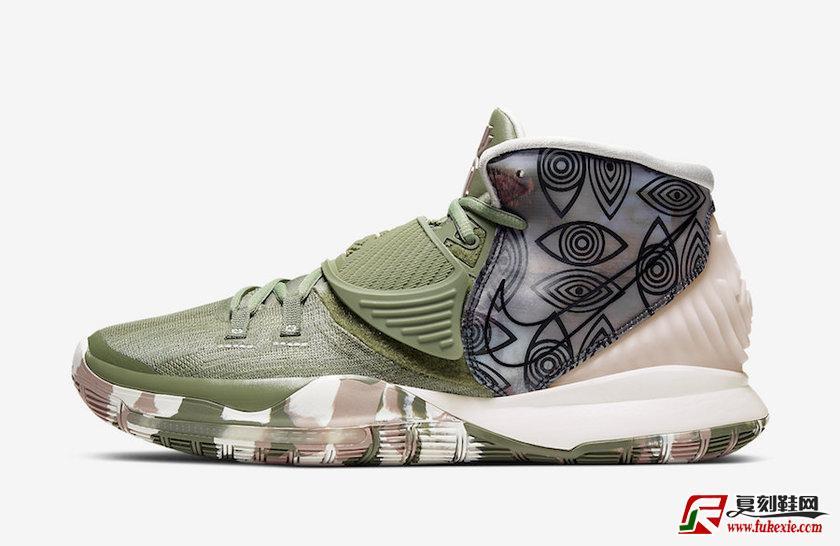"Nike Kyrie 6 Pre-Heat"" Shanghai"" 上海限定 货号:CQ7634-303  | 复刻鞋网 fukexie.com"