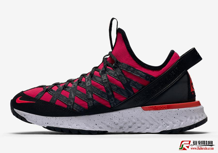 Nike ACG React Terra Gobe Red Purple BV6344-601发售日期信息