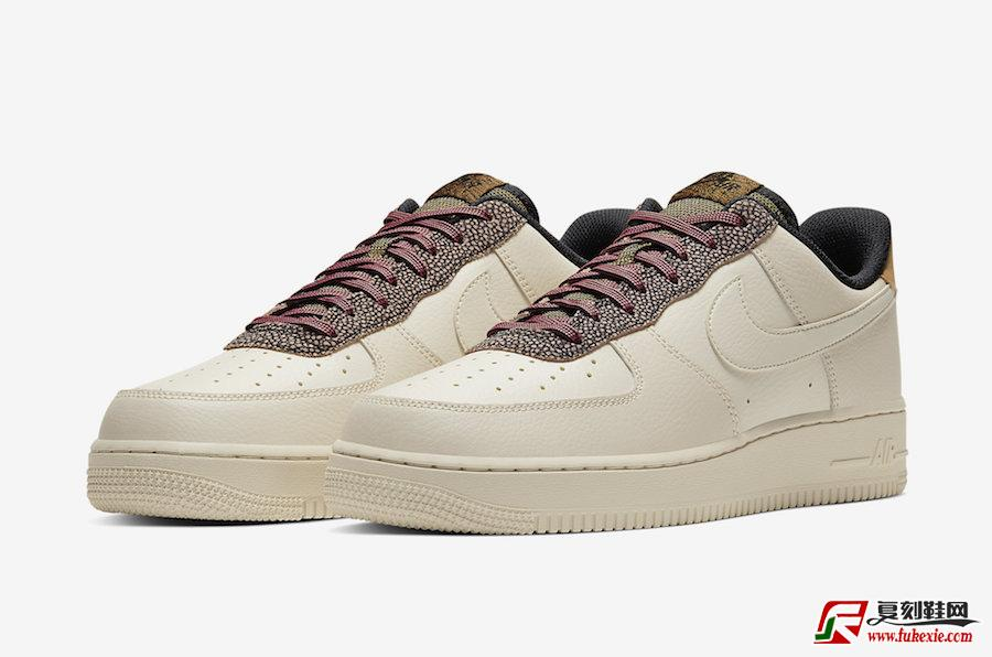Nike Air Force 1 Low Fossil小麦微光CK4363-200发售日期