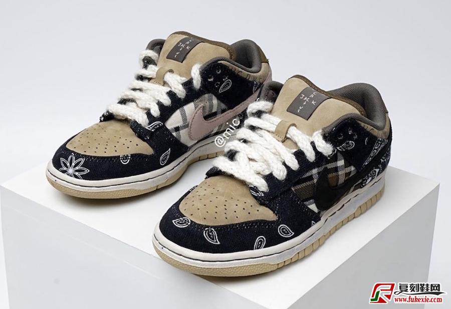 Travis Scott Nike SB Dunk Low CT5053-001发售日期