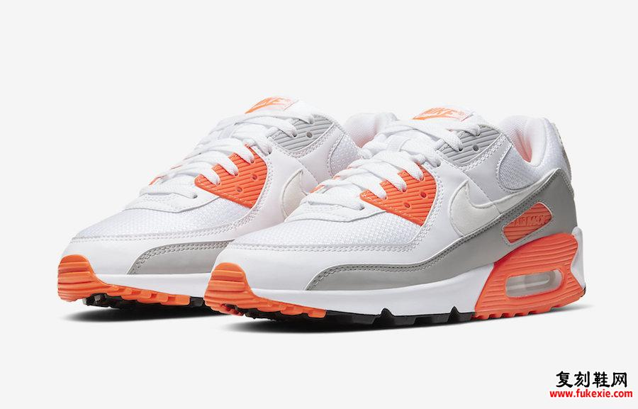 Nike Air Max 90 Hyper Orange CT4352-103发售日期