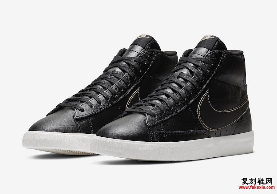 Nike Blazer Mid Patina黑色CU6679-001发售日期