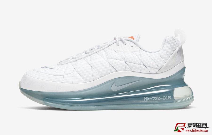 Nike MX 720 818 White Silver CT1266-100发售日期