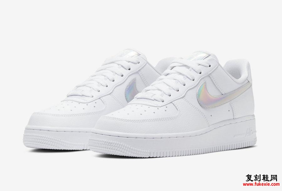 Nike Air Force 1 Low White Iridescent CJ1646-100发售日期
