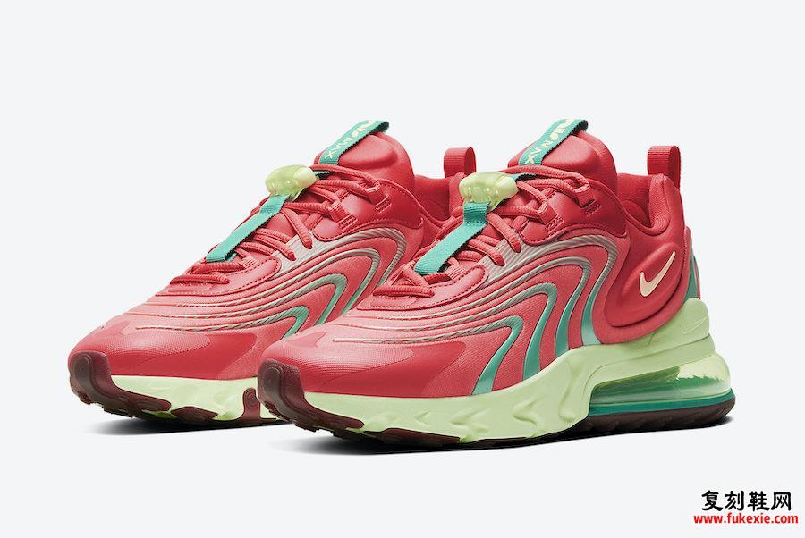 Nike Air Max 270 React ENG西瓜CJ0579-600发售日期