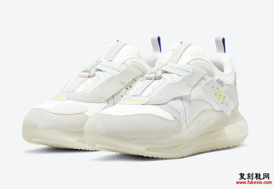 Nike Air Max 720 Slip OBJ Summit White DA4155-100发售日期