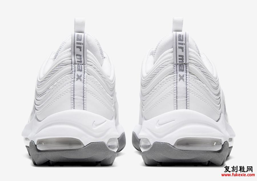 Nike Air Max 97 White Gray CI7538-100发售日期