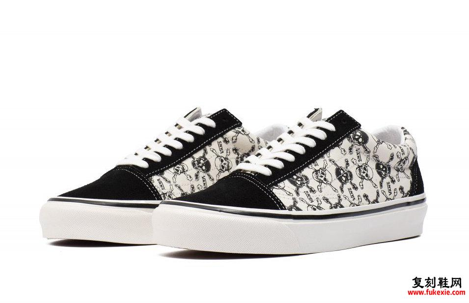 Vans Old Skool 36 DX Skulls发售日期信息