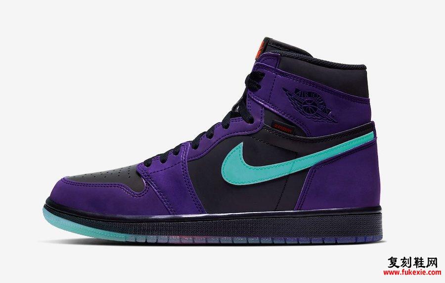 Air Jordan 1 Zoom Court Purple CT0978-005发售日期