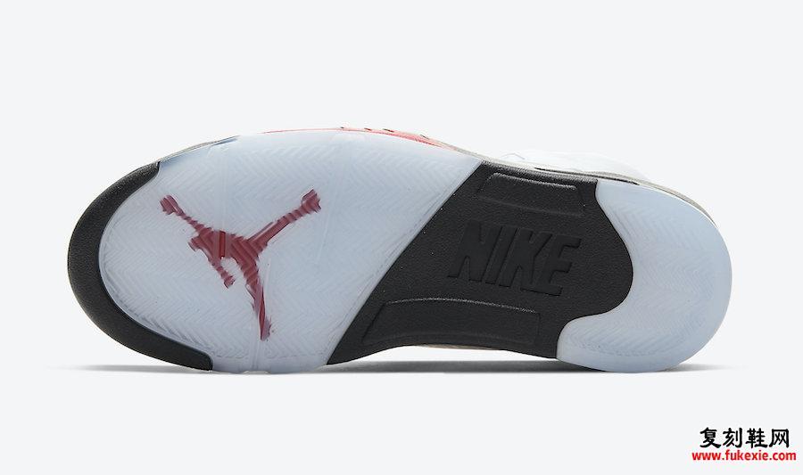 Air Jordan 5 Fire Red DA1911-102 2020发售详细价格