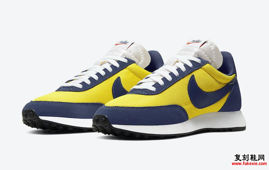 Nike Air Tailwind 79 Yellow Navy 487754-702发售日期信息