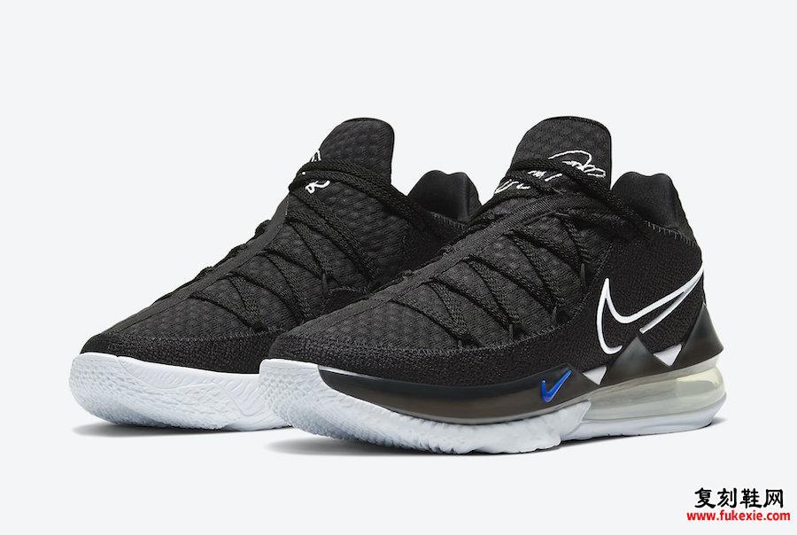 Nike LeBron 17 Low LeBron James CD5007-002发售日期