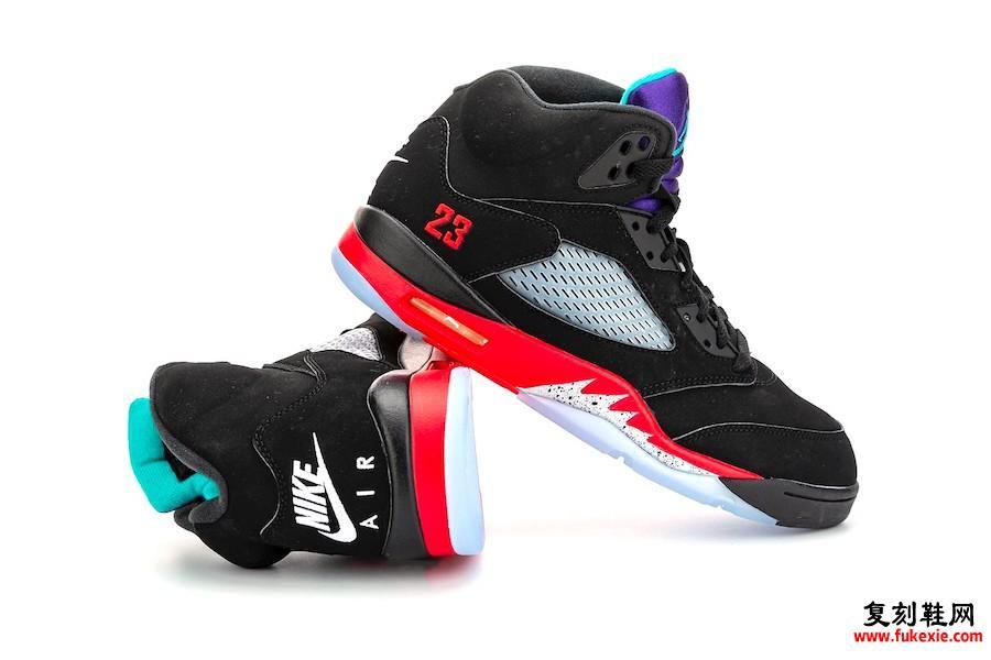 前3款Air Jordan 5发售信息
