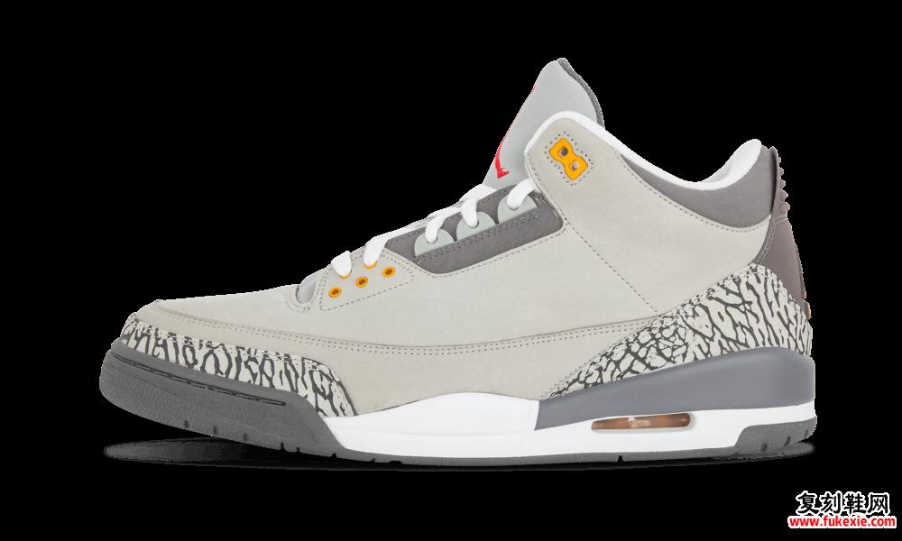 Air Jordan 3 Cool Gray CT8532-012 2021发售日期