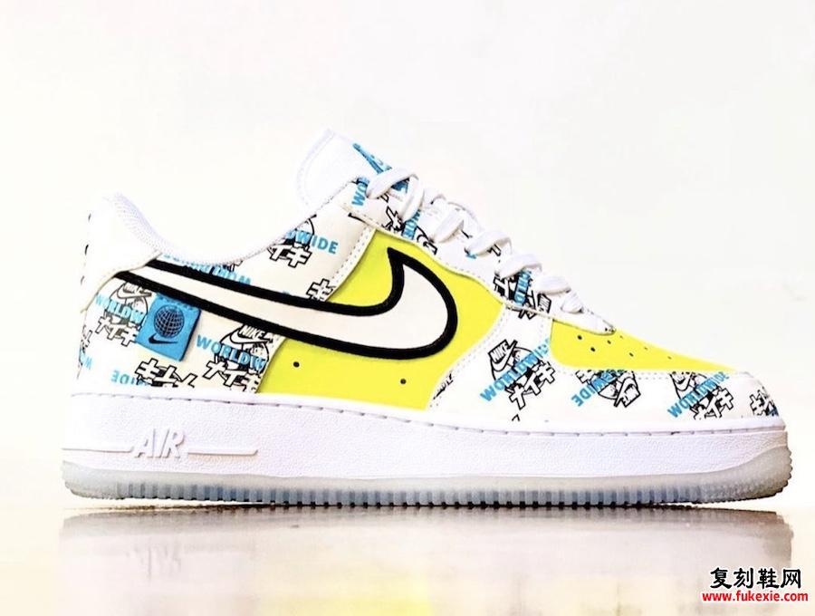 Nike Air Force 1 Worldwide Japan发售日期