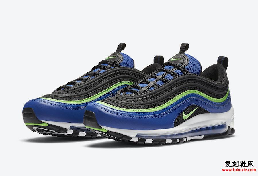 Nike Air Max 97 Blue Neon CW5419-400发售日期