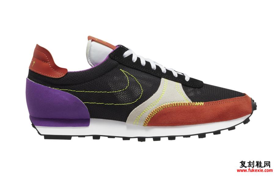 Nike Daybreak Type黑色橙色伏特紫色CJ1156-002