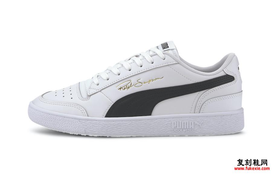 Puma Ralph Sampson Low White Black 370846-11发售日期信息