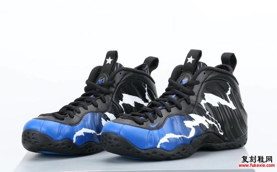Nike Air Foamposite One Black Aurora CN0055-001发售日期