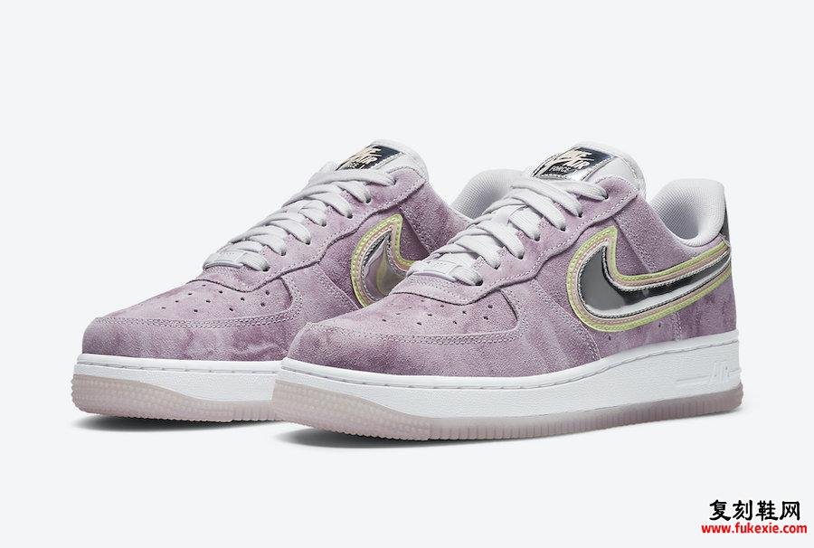 Nike Air Force 1 Low P(Her)spective CW6013-500发售日期信息