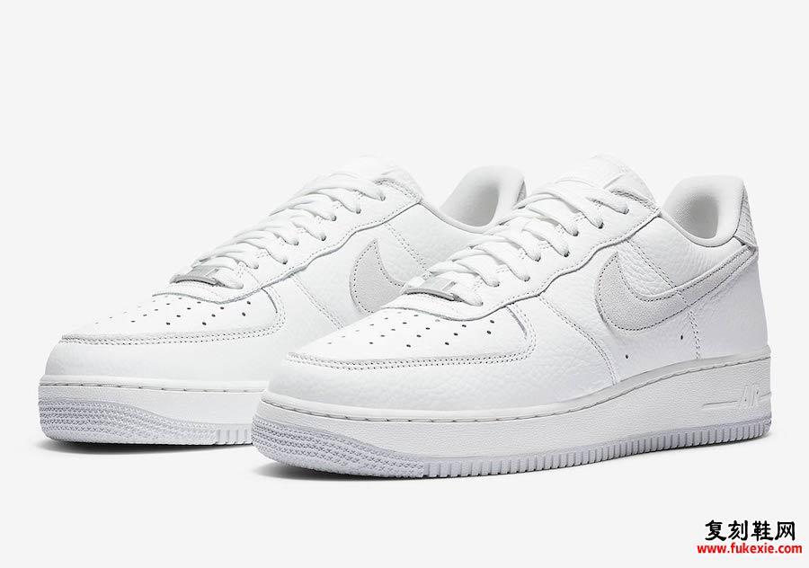 Nike Air Force 1 Craft White Gray CN2873-100发售日期