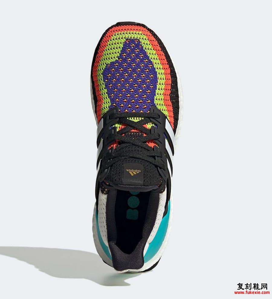 adidas Ultra Boost DNA Multi-Color FW8709发售日期