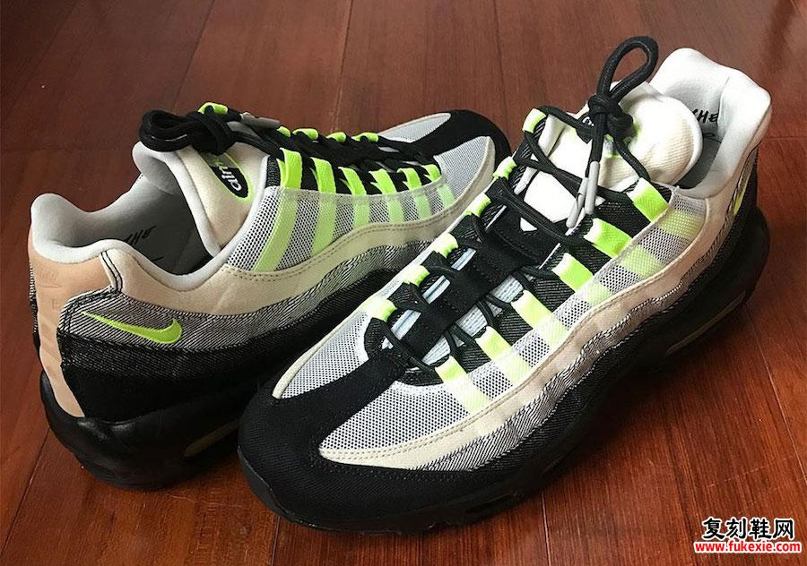 DENHAM Nike Air Max 95 CU1644-001发售日期