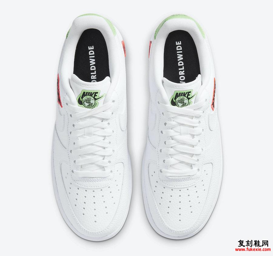 Nike Air Force 1 Low Worldwide CT1414-100发售日期信息