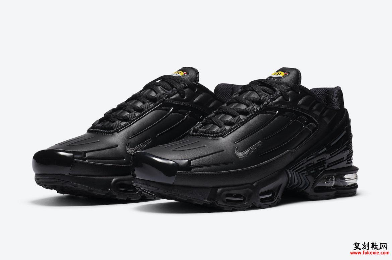 Nike Air Max Plus 3黑色皮革CK6716-001发售日期