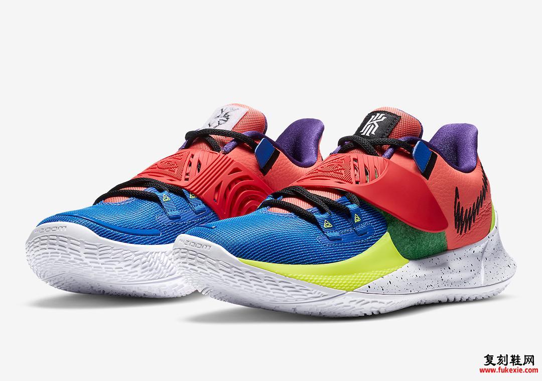 Nike Kyrie Low 3 NY vs NY CJ1286-800发布日期信息