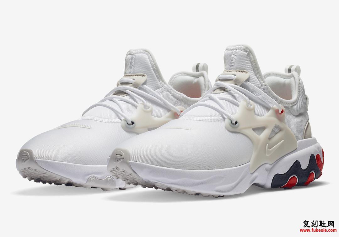 Nike React Presto USA AV2605-102发售日期信息