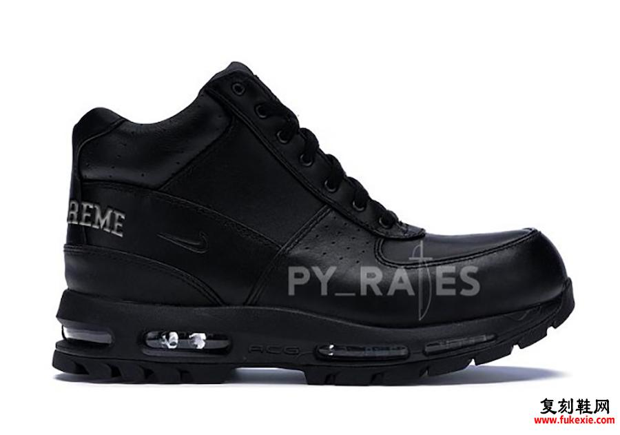 Supreme Nike Air Max Goadome Black发售日期