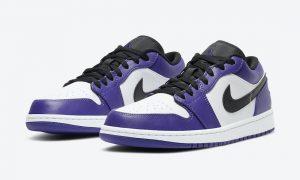 Air Jordan 1 Low Court Purple 553558-500发售日期
