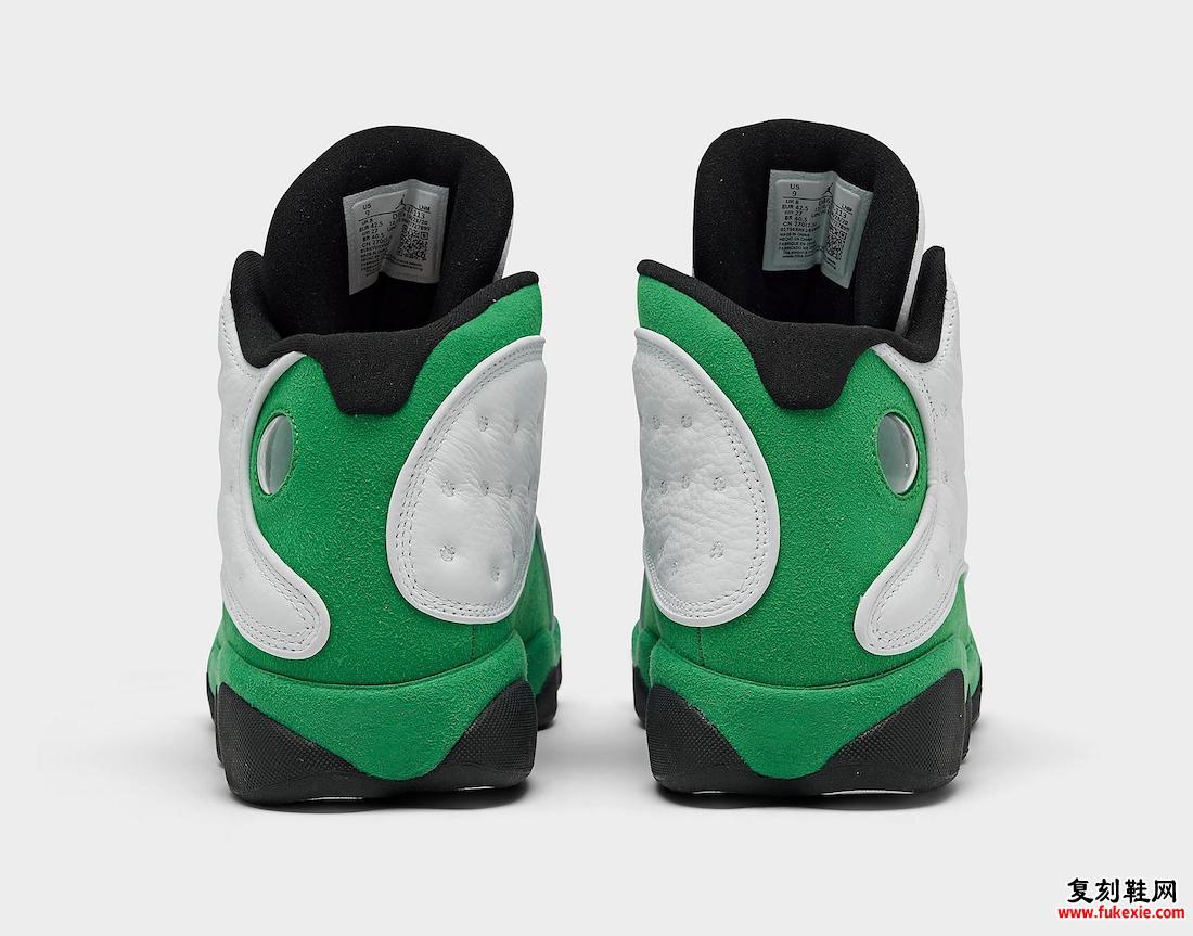 Air Jordan 13 Lucky Green DB6537-113发售日期